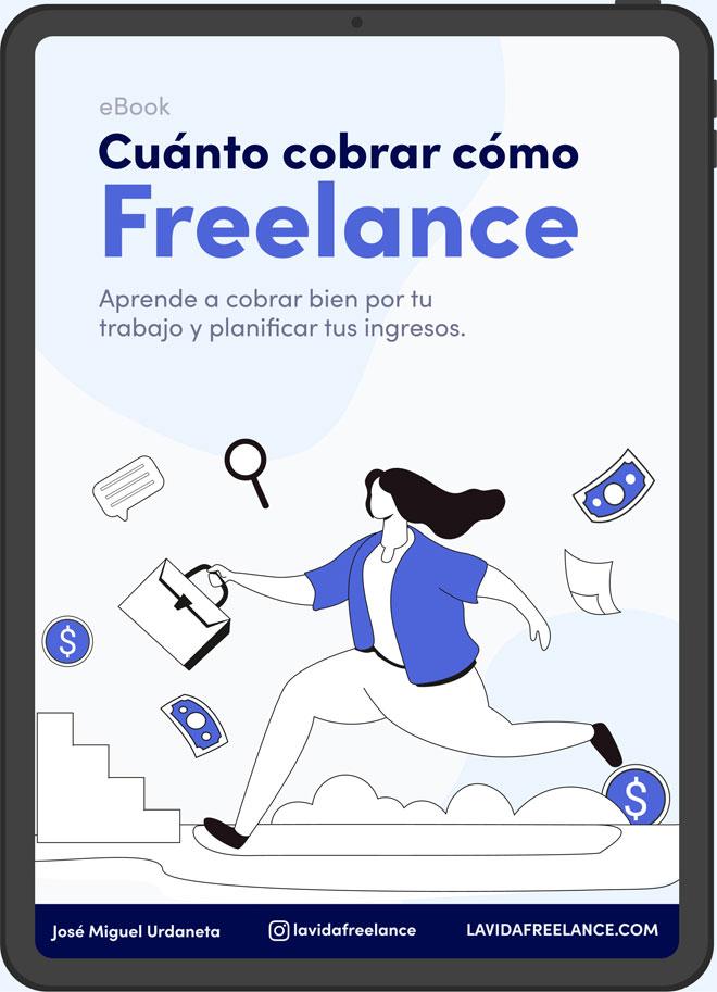 Portada del ebook Cuanto cobrar como freelance
